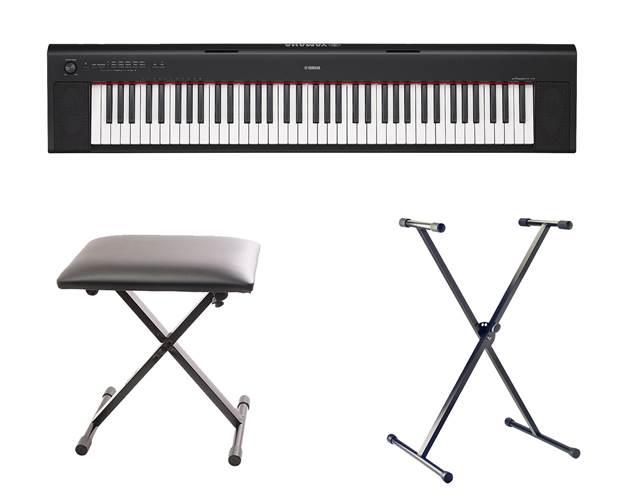 Yamaha NP-32B Black Portable Digital Piano Pack