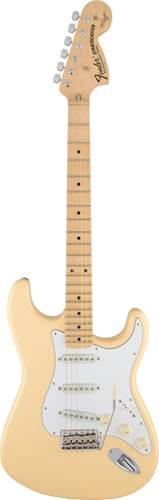 Fender Yngwie Malmsteen Stratocaster Vintage White Maple Fingerboard