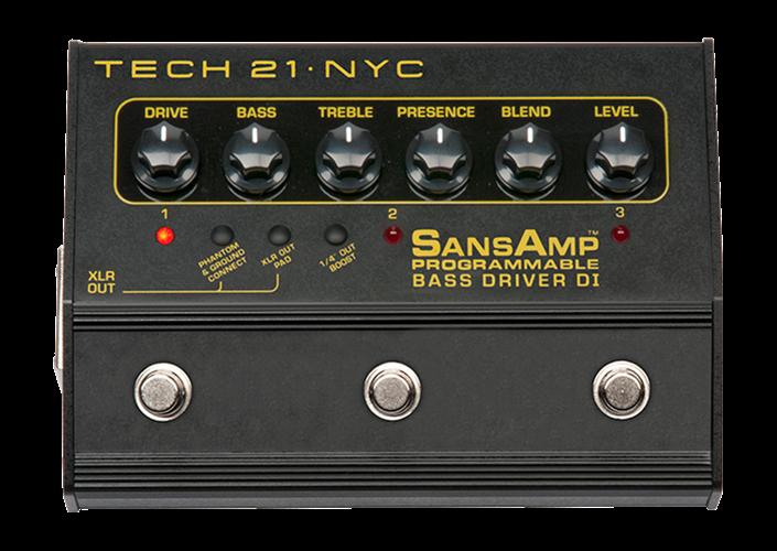 Tech 21 SansAmp Bass Driver Programmable