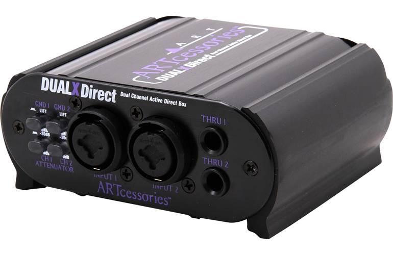 Art DualXDirect Active 2 Channel DI Box
