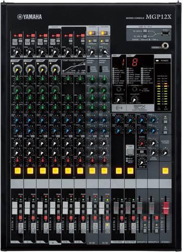 Yamaha MGP12X 12 Channel Mixer (Ex-Demo) #mgp12x