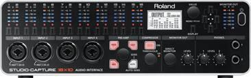 Roland UA-1610 STUDIO-CAPTURE USB 2.0 Audio Interface (Ex-Demo) #Z7C0060