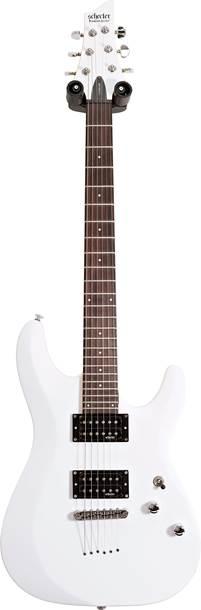 Schecter C-6 Deluxe Satin White (Ex-Demo) #IW20070984