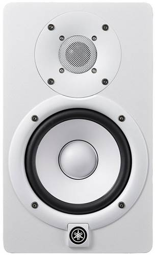 Yamaha HS5 Studio Monitor White (Single) (Ex-Demo) #BFAX01125