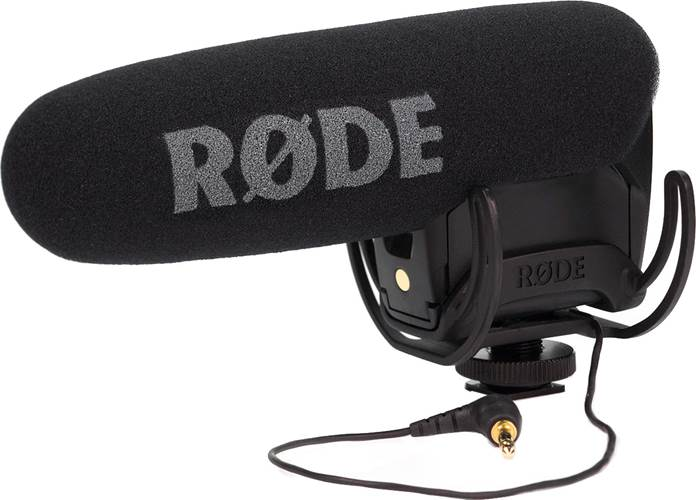 Rode Videomic Pro-R with Rycote Suspension