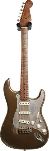Fender Custom Shop Limited Edition 1957 Stratocaster Relic Bronze Patina Master Built by Dale Wilson #CZ550653