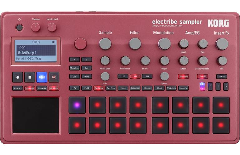 Korg ESX-2 Electribe Sampler Red