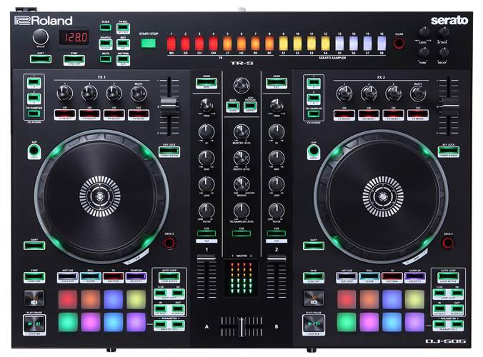 Roland DJ-505 DJ Controller (Ex-Demo) #Z5I3344