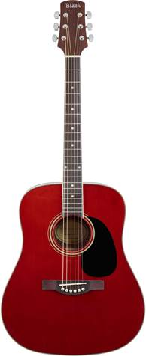Adam Black S2 Acoustic Guitar Red