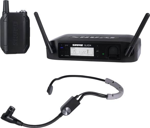 Shure GLXD14UK/SM35-Z2 Wireless System with SM35 Headset Mic