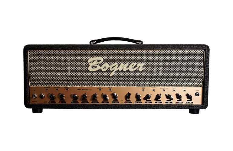 Bogner Ecstasy 20th Anniversary Head 100W 6L6 Comet/Salt and Pepper