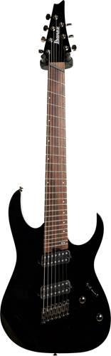 Ibanez Iron Label RGMS7-BK Multi-Scale 7 String Black (Ex-Demo) #200608846