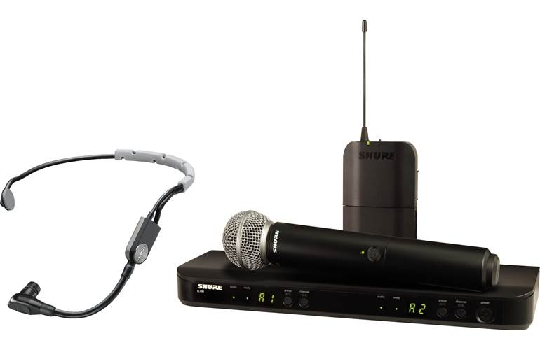 Shure BLX1288UK/SM35 Dual Wireless System with SM35 and SM58