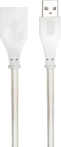 Roland 10Ft/3M Interconnect Cable, USB-A - USB-A(F), White Woven