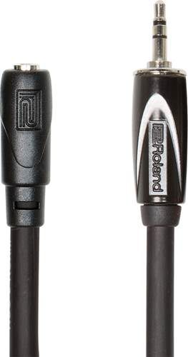 Roland 25ft/7.5m Headphone Extension Cable, 3.5mm TRS Male To Female