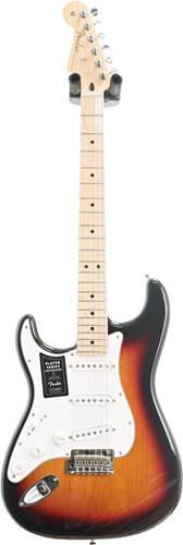 Fender Player Stratocaster 3 Colour Sunburst Maple Fingerboard Left Handed (Ex-Demo) #MX20146586