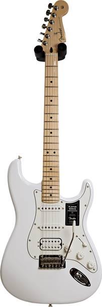 Fender Player Stratocaster HSS Polar White Maple Fingerboard (Ex-Demo) #MX21027546