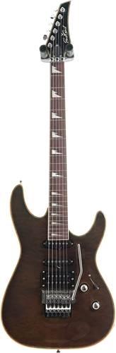 EastCoast GVQ230F Black Quilt Purpleheart Fingerboard (Ex-Demo) #ECEG442