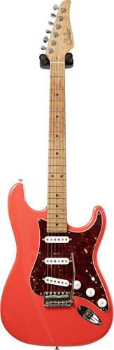 Suhr guitarguitar Select 140 Custom Classic Fiesta Red AAAAA Birdseye Maple Fingerboard #JS3L5A