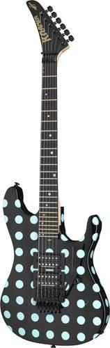 Kramer Nightswan Black with Blue Polka Dot