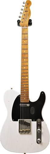 Fender Custom Shop 1953 Telecaster Journeyman Relic White Blonde Maple Fingerboard Master Builder Designed by Paul Waller #R99359