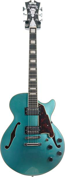 D'Angelico Premier SS Stopbar Ocean Turquoise