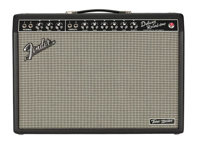 Fender Tone Master Deluxe Reverb 1x12 Combo Solid State Amp