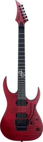 Solar Guitars S1.6FRFBR Flame Blood Red Matte