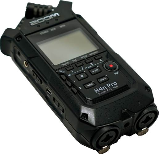 Zoom H4N Pro Black (Ex-Demo) #C41007308