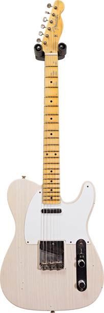 Fender Custom Shop 1957 Telecaster Journeyman Relic Aged White Blonde #CZ551959