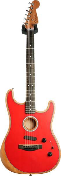 Fender Acoustasonic Stratocaster Dakota Red (Ex-Demo) #US198857