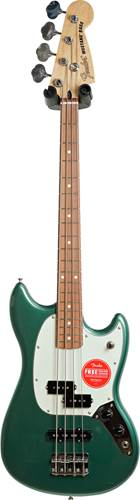 Fender FSR Mustang Short Scale Bass PJ Sherwood Green Metallic Pau Ferro Fingerboard (Ex-Demo) #MX20107305