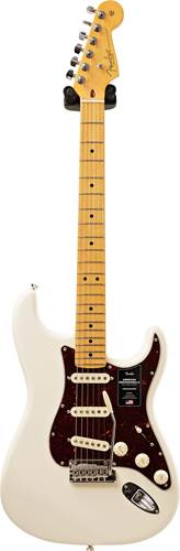 Fender American Professional II Stratocaster Olympic White Maple Fingerboard (Ex-Demo) #US210011981