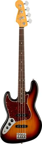 Fender American Professional II Jazz Bass 3 Tone Sunburst Rosewood Fingerboard Left Handed