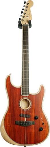 Fender Acoustasonic Stratocaster Exotic Cocobolo #US204867A
