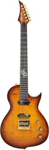 Solar Guitars GC1.6FAB Flame Amber Solar Burst