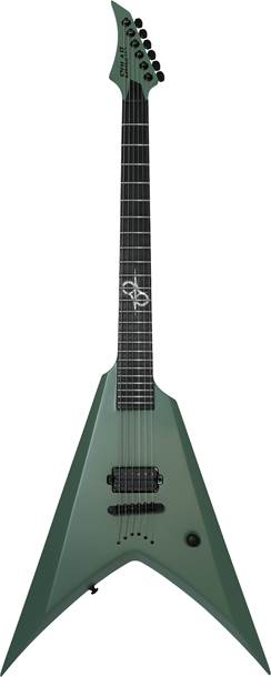 Solar Guitars V2.6AG Army Green Matte