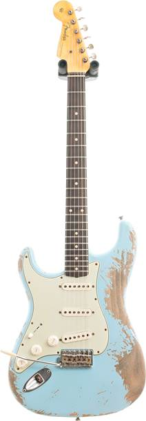 Fender Custom Shop 1960 Stratocaster Super Heavy Relic Daphne Blue Left Handed