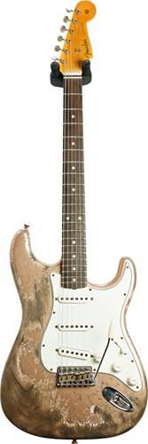Fender Custom Shop 1960 Stratocaster Super Heavy Relic Firemist Gold #R107921