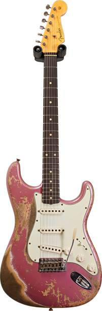 Fender Custom Shop 1960 Stratocaster Super Heavy Relic Burgundy Mist Metallic #R109538
