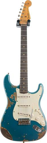 Fender Custom Shop 1960 Stratocaster Super Heavy Relic Ocean Turquoise #R109421