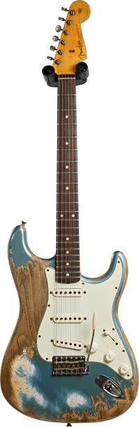 Fender Custom Shop 1960 Strat Super Heavy Relic Ice Blue Metallic #R109525