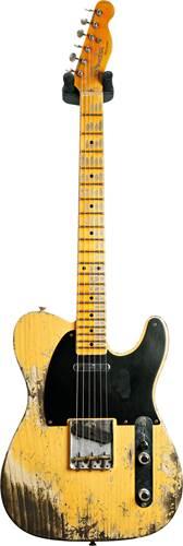 Fender Custom Shop 52 Telecaster Super Heavy Relic Butterscotch Blonde  #R108981
