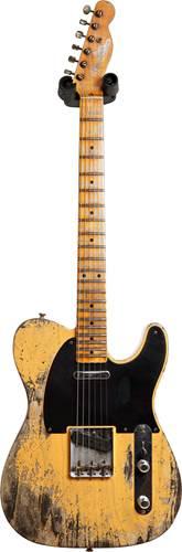 Fender Custom Shop 52 Telecaster Super Heavy Relic Butterscotch Blonde #R108682