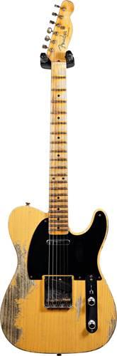 Fender Custom Shop 52 Telecaster Super Heavy Relic Butterscotch Blonde #R108547