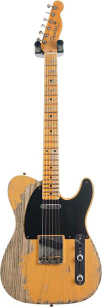 Fender Custom Shop 52 Telecaster Super Heavy Relic Butterscotch Blonde #R108887