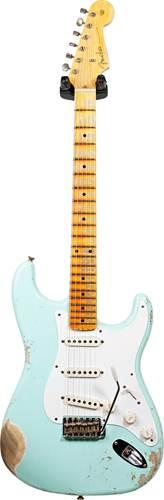 Fender Custom Shop 1957 Stratocaster Heavy Relic Surf Green #R109492