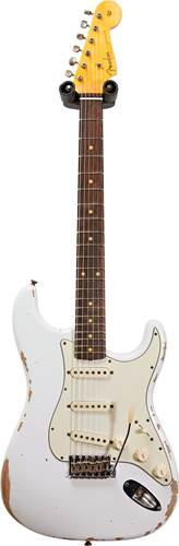 Fender Custom Shop 1960 Stratocaster Relic Olympic White  #R109592