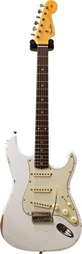 Fender Custom Shop 1960 Stratocaster Relic Olympic White #R109597