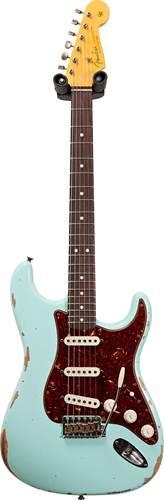 Fender Custom Shop 1963 Stratocaster Relic Surf Green #R109600